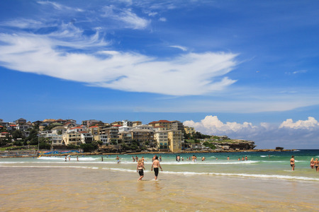 manly: Manly Beach Stock Photo
