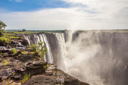 View of Victoria Falls