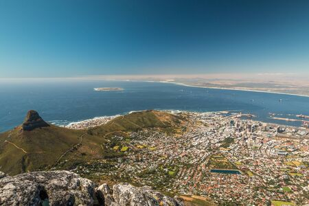 Nice view of Cape Town