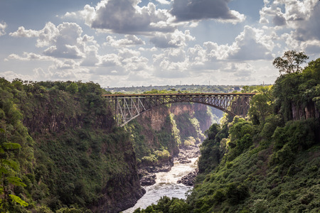 Bridge in Victoria Falls Stock fotó - 81030184