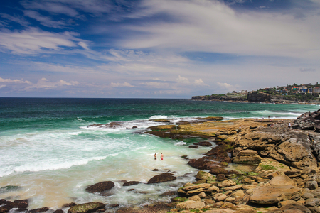 sultry: Bronte Beach in Sydney