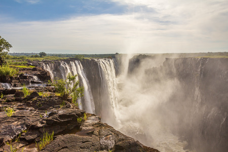 NIce view of Victoria falls Stock Photo
