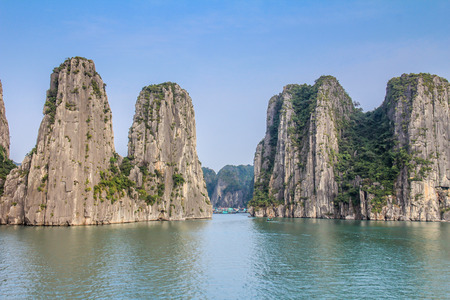 Halong bay rocks