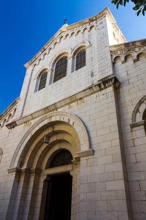 mideast: Saint Joseph church in Nazareth Israel