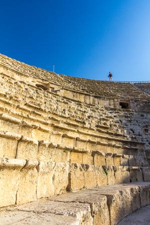 Amphitheater in Jerash Jordan