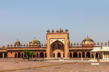 mughal: Mosque Fatehpur Sikri in India Editorial