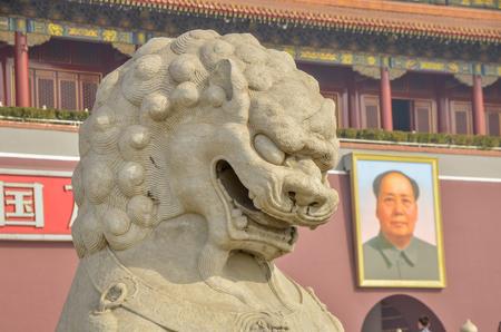 中国北京の天安門広場