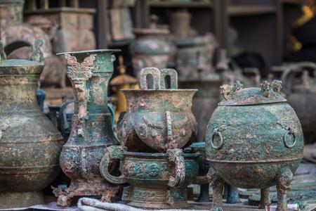 北京の骨董品市場します。