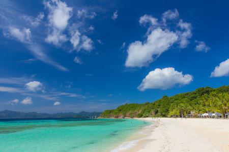 Beach in Palawan Island Philippines