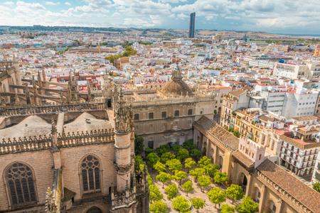 スペイン セビリア 写真素材