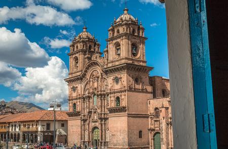 Jesuit church in Cusco Peru