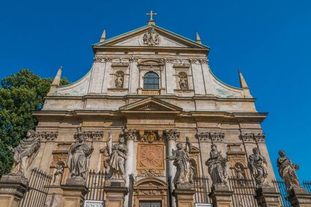 Saint Peter and Paul church in Krakow Poland