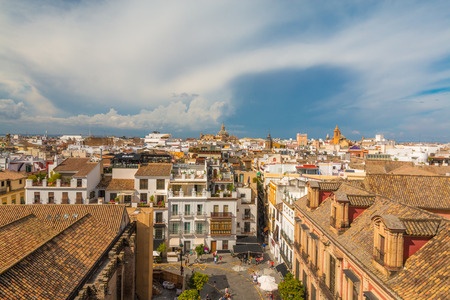 Nice view of Seville Spain