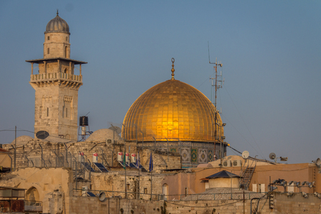 The dome of Rock in Jerusalem