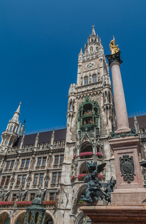 Old town hall of Munich in Germany