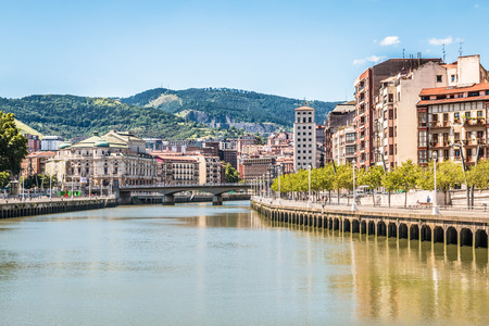Bilbao in Basque Spain Stock Photo - 75522627