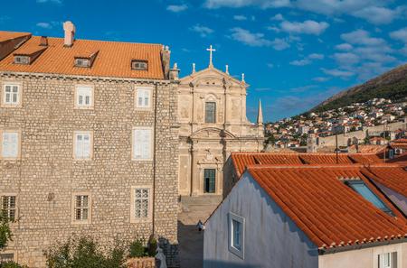 Old church in Dubrovnik