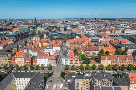 Nice view of Copenhagen