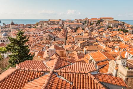 View of Dubrovnik Croatia