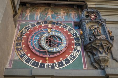 Clock in Bern