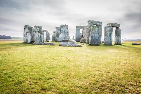 The Stonehenge 免版税图像