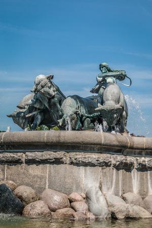 Gefion statue in Copenhagen