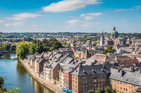 Namur Belgium 免版税图像