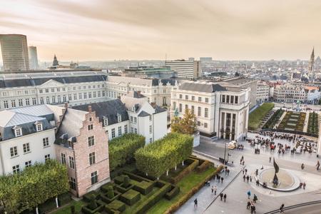 Brussels Belgium 免版税图像