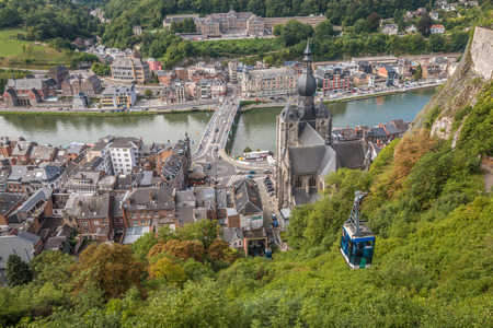 Dinant Belgium 免版税图像