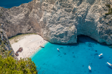 The Shipwreck in Greece