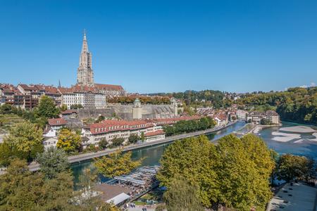 Belle vue sur Berne