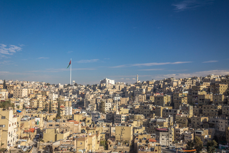Amman city in Jordan