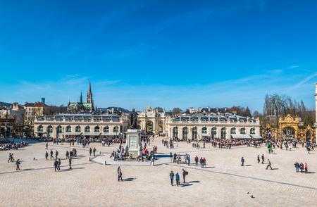 Stanislas square in Nancy France Stock Photo