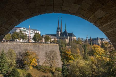 Luxembourg city Фото со стока
