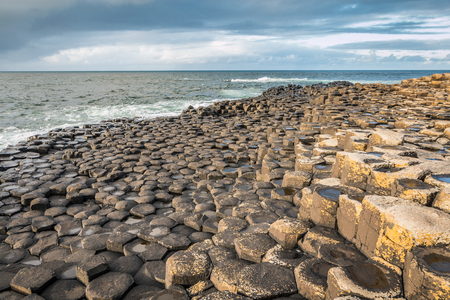 Nice view of The Giants Causeway
