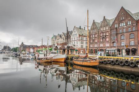 Bergen Norway 免版税图像