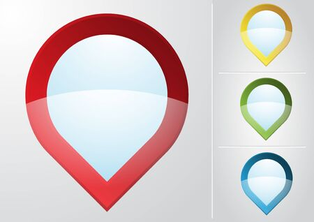 48,688 Map Pointer Icon Stock Vector Illustration And Royalty Free ...