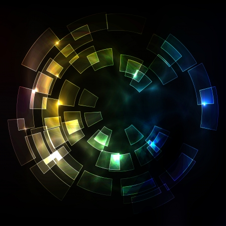 popular science: Colored abstract background