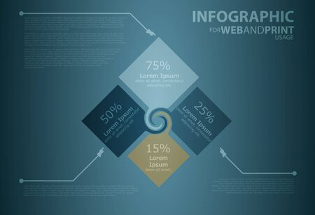 usage: Infographic elements for web and print usage