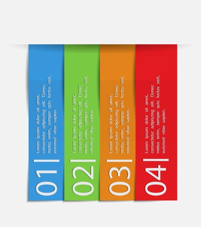 master page: Vector Paper Progress background  product choice or versions Illustration