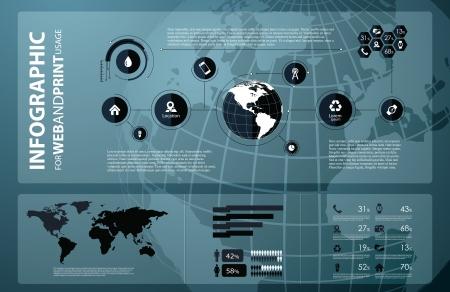 visualize: Di alta qualit� di business infographic elementi