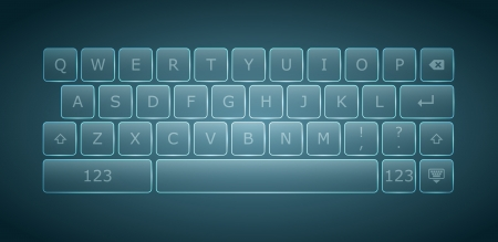 Virtual keyboard for touchscreen devices