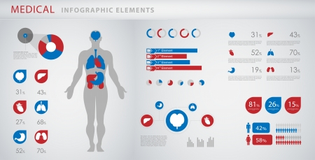 medical infographic elements Фото со стока - 18003707