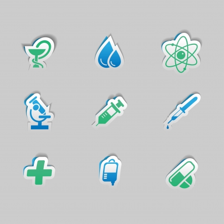Medical Icon Set Stock Vector - 18931033