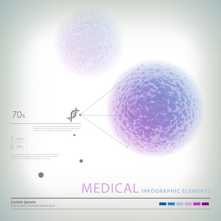 medical infographic elements Stock Vector - 20231039