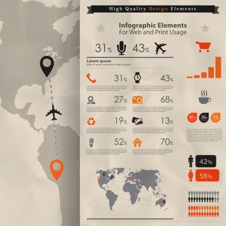 kalender: Hochwertige Business-Infografik Elementen