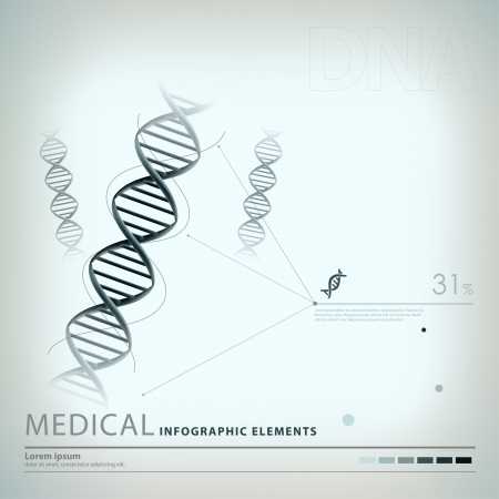 medical infographic elements Stock Vector - 20837940