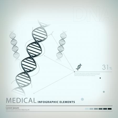 bowel: mediche elementi infographic Vettoriali