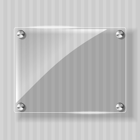 Abstract background with glass framework Vector