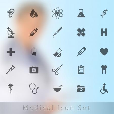Medical Icons Фото со стока - 20837815